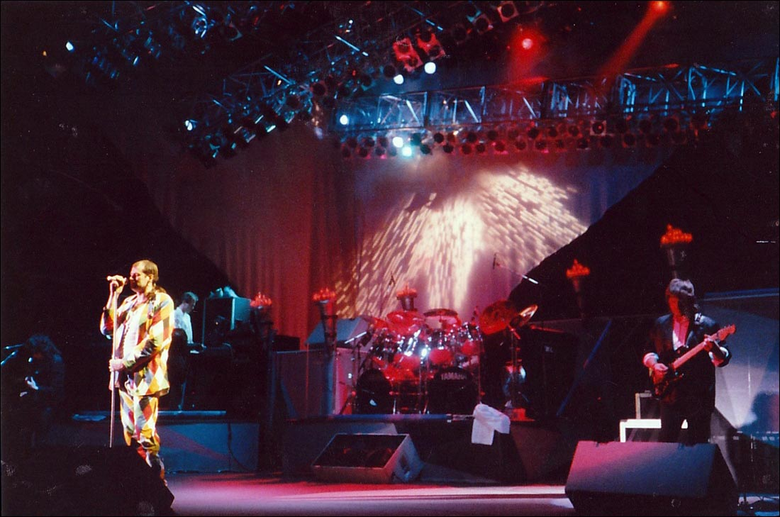 Marillion: Hammersmith Odeon, London - 18.01.1988 - Garden Party - Photo by unknown photographer