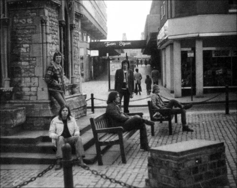 First Promo Session: Friars Square, Aylesbury - 1981