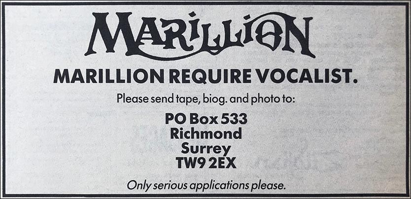 Ad: Melody Maker - December 1988