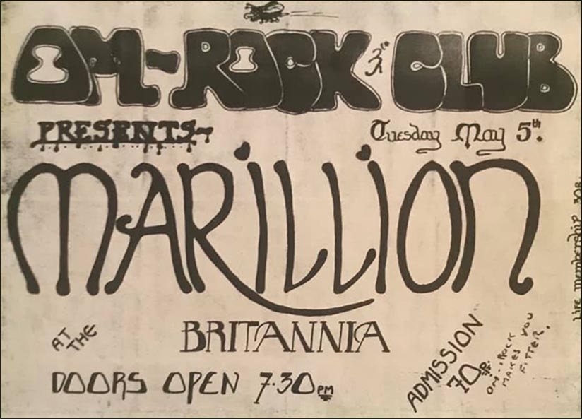Flyer: The Brittania, Aylesbury - 05.05.1981