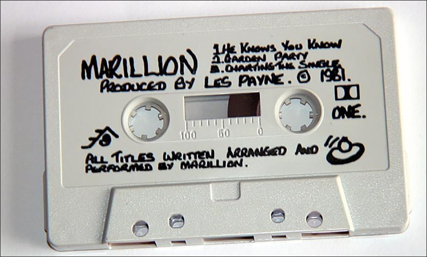 Marillion-Demo: The Roxon Tape - July 1981
