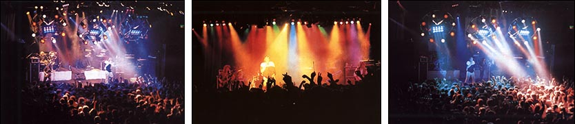 "Marillion: Civic Centre, Aylesbury - 28.12.1986 - Photos by Stuart James, taken from ""The Web"" - Issue No. 23"