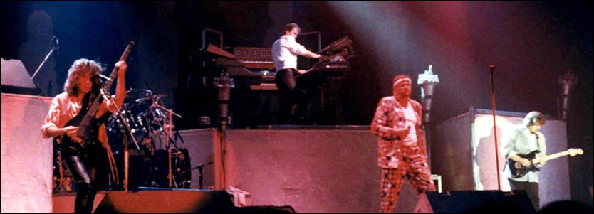 Marillion: Clutching At Straws Tour - 1987 - Unknown photographer