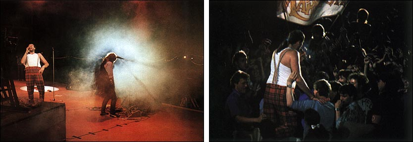 Marillion: Radrennbahn Weissensee, East-Berlin - 18.06.1988 - Photos by Peter Stone, taken from ''The Web'' - Issue No. 28
