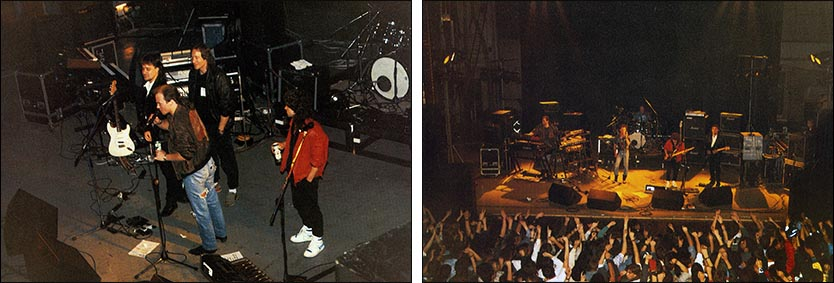 Marillion: Royal Court Theatre, Liverpool - 10.12.1988 - Photo taken from ''The Web'' - Issue No. 30