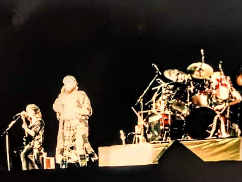 Marillion: Rosemont Horizon, Chicago - 21.03.1986 - Photo by Steve Gungel