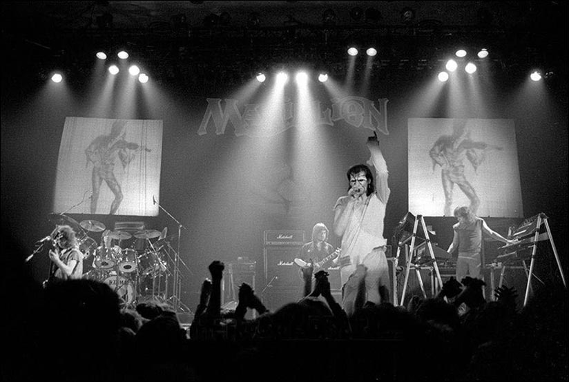 Marillion: Civic Hall, Guildford - 17.03.1983 - Photo by Robert Ellis
