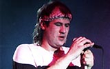 Marillion: Civic Centre, Aylesbury - 27.12.1986 - Photo by Stuart James