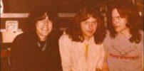 Marillion: Nite Club, Edinburgh - 15.04.1982 (fltr: Phil Bell, Privet Hedge, Mark Kelly) - Photo by Laura Gibbs Dick