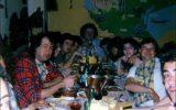 Fish and Pete with italian fan club members: La Tana del Lupo, Milan - 14.05.1987 - Photo by Roberto Cangiolili